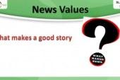 "Webinar on ""News Values"" 12-02-2015"