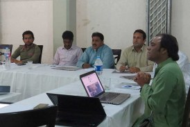 MF360 organises training sessions on Investigative Journalism in Larkana