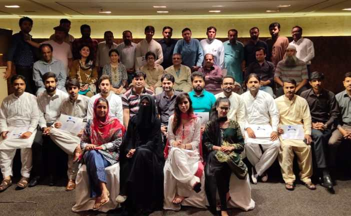 MF360 organized a workshop on 'Peace through Constructive Journalism'