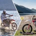 Luca Colombo: traversata dello Stretto di Messina con una moto da cross