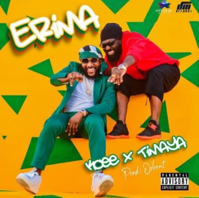 """Kcee – """"Erima"""" ft. Timaya"""
