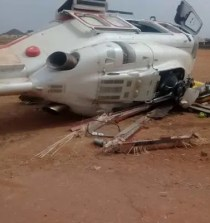 [Video] Osinbajo Involved In An Auto-Crash With A helicopter - Watch Video