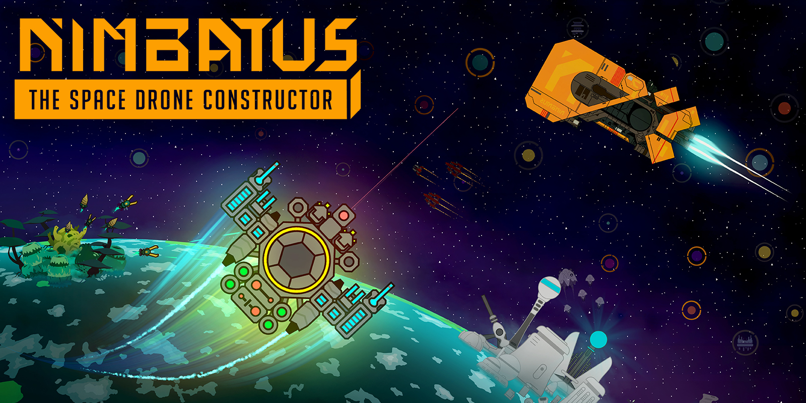 Nimbatus – The Space Drone Constructor
