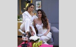 Amrita Arora with Karena Kapoor