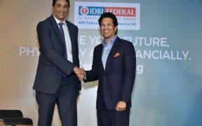 IDBI Federal Life Insurance and Sachin Tendulkar