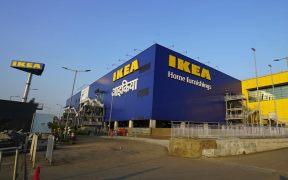 IKEA unveils Navigation Tower and Wordmark at Navi Mumbai store site