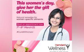 Hamdard Laboratories offers free consultation to women