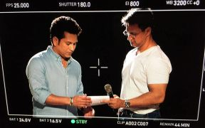 Kunal Shivdasani shoots an ad film with Sachin Tendulkar for Livpure
