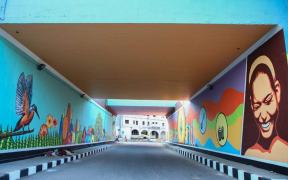 Nippon Paint completes painting National Highway near Ranipet Toll gate