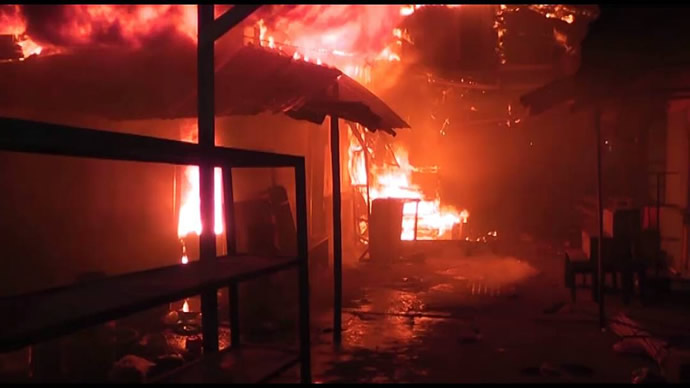 Policeman, wife, daughter, relation die in Adamawa fire