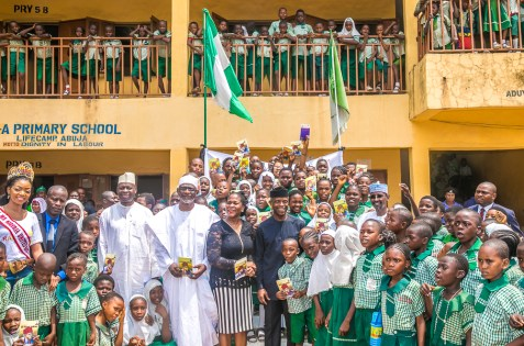 VP at LEA Govt Pry School, to commemorate the International World Book and Copyright Day. 23rd April 2018
