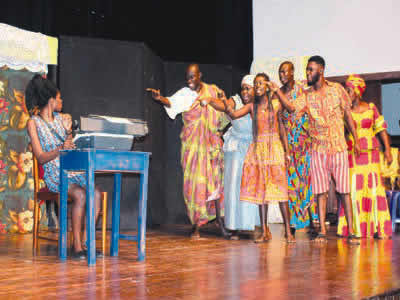 Zara more than a guest at Marriage of Anansewa