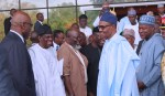 PRESIDENT BUHARI ATTENDS DEMOCRACY DAY LECTURE AT ICC. MAY 28 2018
