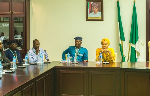 Vice President Yemi Osinbajo, SAN, in a meeting with Young APC Aspirants held at the Presidential Villa, Abuja. 12th September, 2018. Photos: NOVO ISIORO.