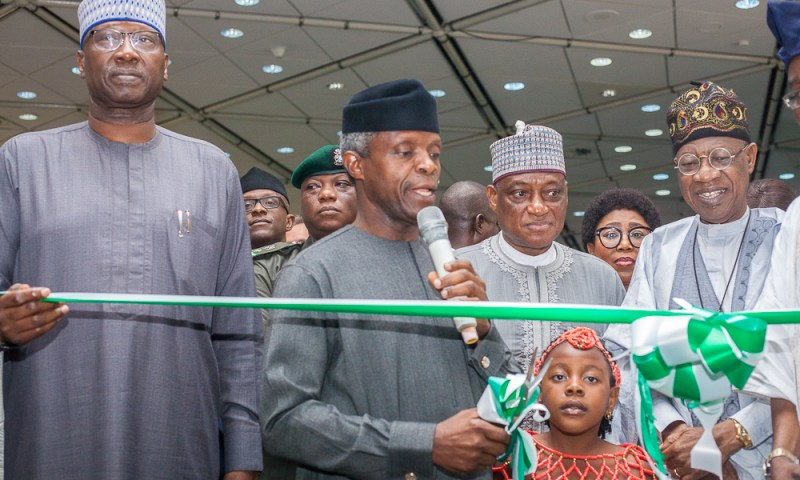 Vice President Yemi Osinbajo, SAN, declares Open the 2018 Independence Day Photo Exhibition;