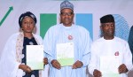 PRESIDENT BUHARI AT THE LAUNCH OF NEXT LEVEL SCORECARD TO THE GOV.