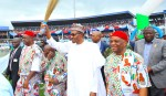 PRESIDENT BUHARI IN ABA ABIA FOR 2019 PRESIDENTIAL CAMPAIGN