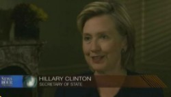 Hillary on NewHour PBS
