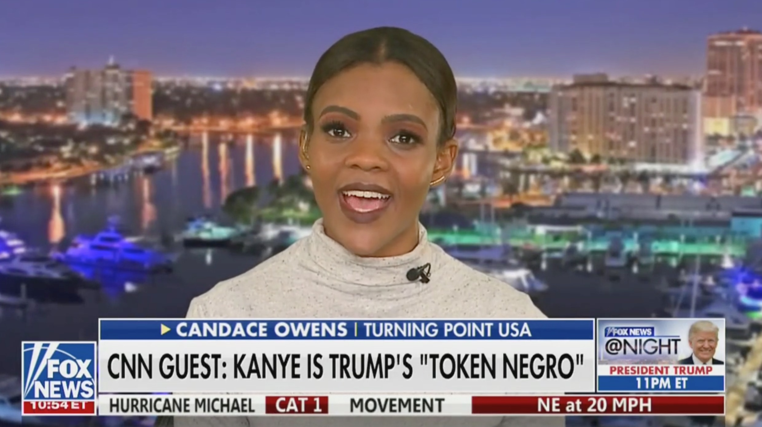 Candace Owens Rips CNN For Racist Attacks On Kanye West