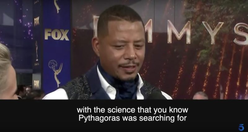 Can You Figure Out What Terrence Howard Is Talking About in This Interview Because We Can
