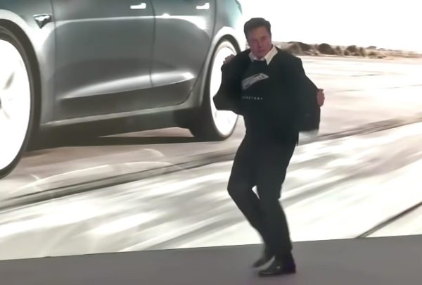 Elon Musk Shows Off Bizarre Dance at Tesla Event in China