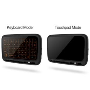 H18+ Touchpad en toetsenbord