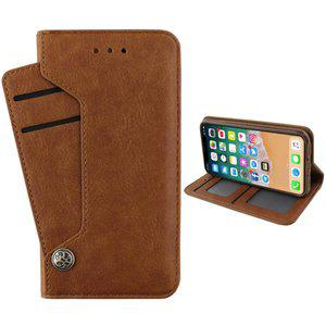 iphone xr hoesje luxe wallet bookcase