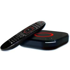 MAG 324 - 325 IPTV Box met remote voorkant