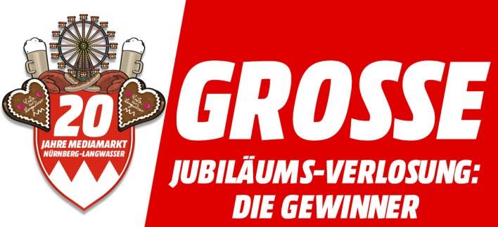Grosse Jubilaums Verlosung Die Gewinner Mediamarkt Nurnberg Langwasser