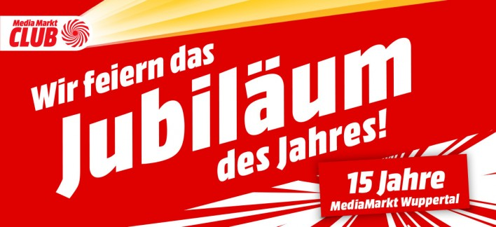 Der Mediamarkt Wuppertal Feiert 15 Jahriges Jubilaum Mediamarkt