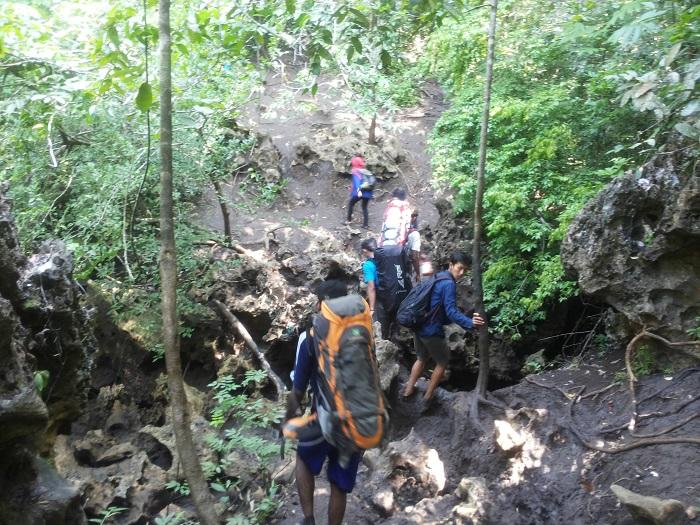 akses jalan ke pulau sempu malang