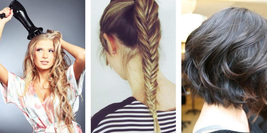 mengatasi rambut kering hindari styling rambut