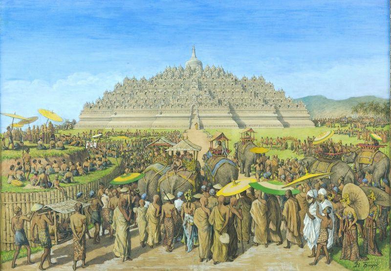 Asal-Usul Borobudur