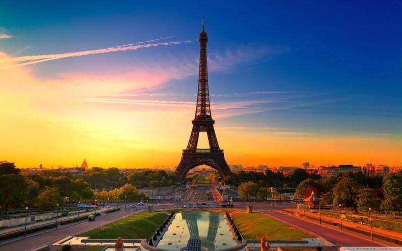 Pemandangan di Paris