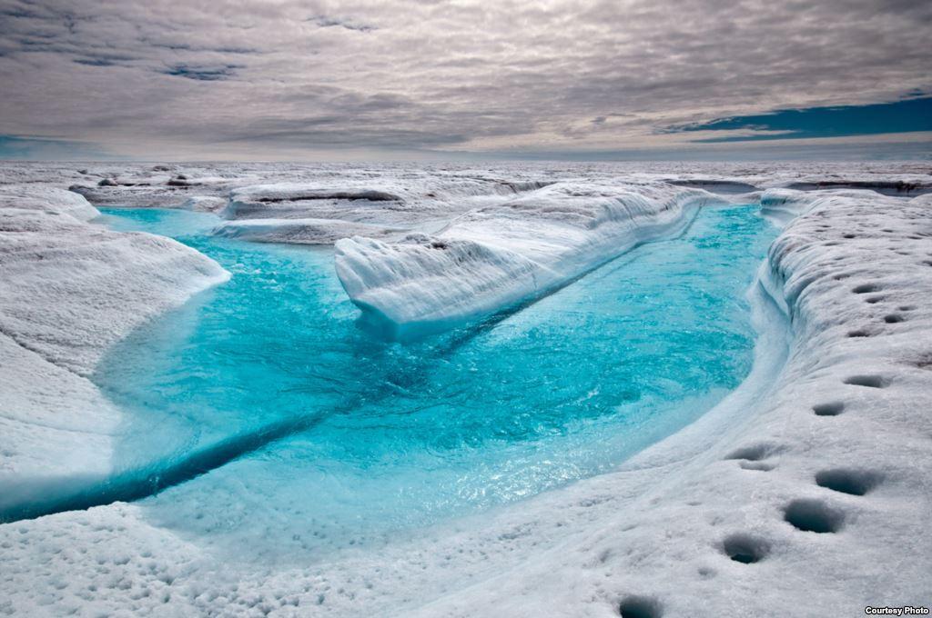 mencairnya es kutub utara efek pemanasan global