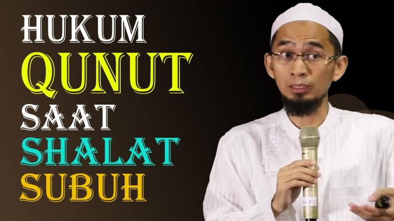 Doa Qunut Subuh