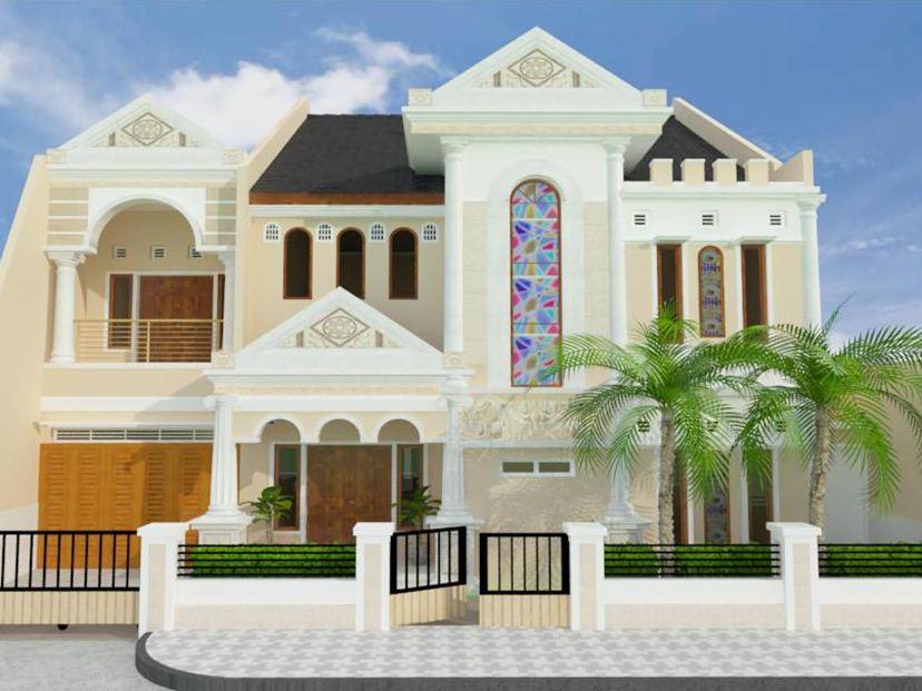 Rumah minimalis klasik modern