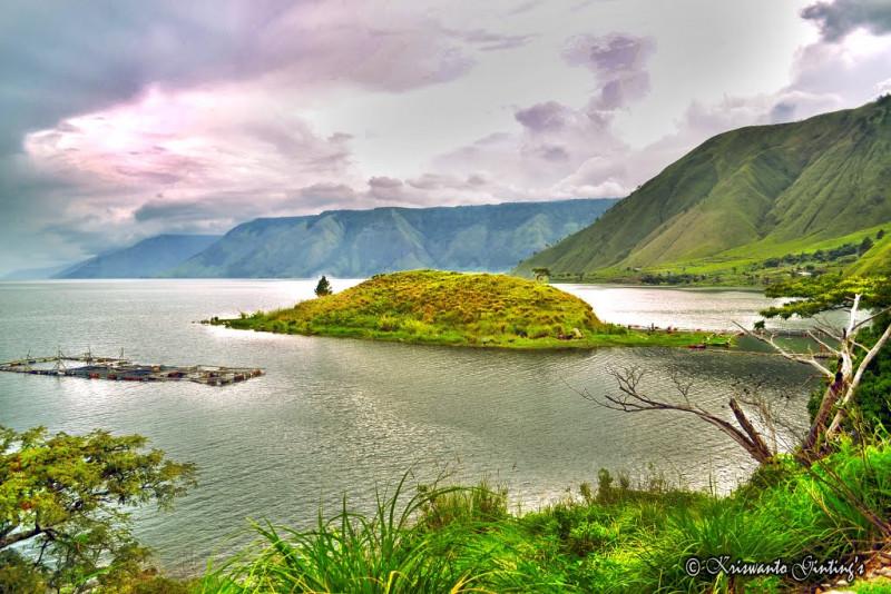 danau toba desa Silalahi