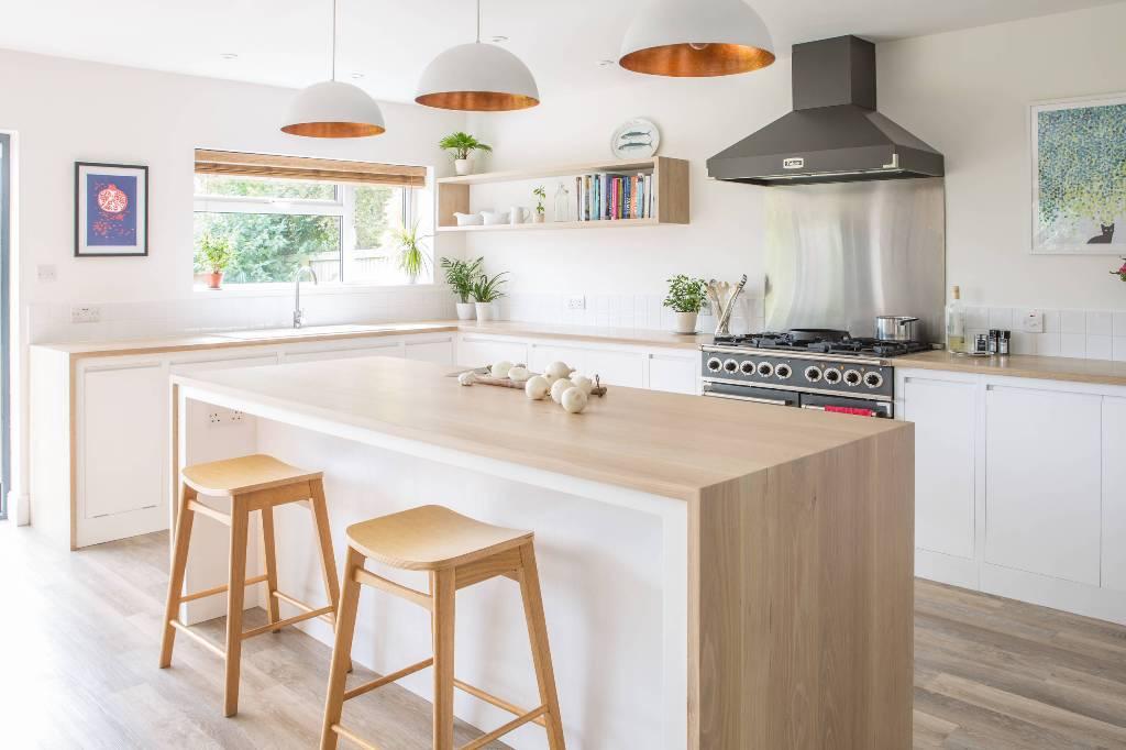 Dapur Minimalis Skandinavian