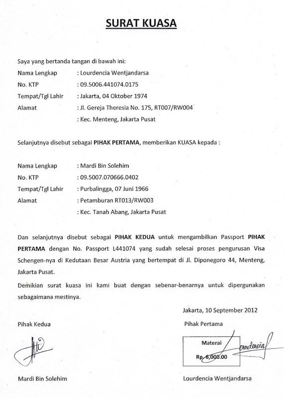 Contoh Surat Akta Jual Beli Tanah Contoh Surat Surat