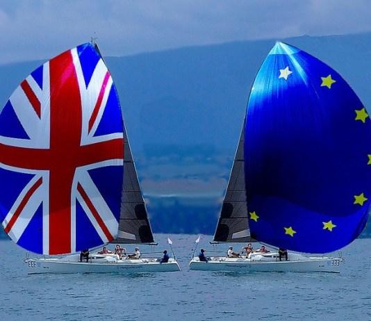 Brexit - UK and EU sailing apart