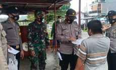 Permalink ke Anggota Koramil 01/Temanggung Laksanakan Gakplin Prokes