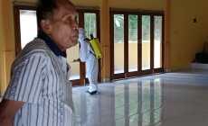 Permalink ke Vihara Graha Bhavana Plandi Disemprot Disinfektan