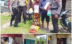 Permalink ke Kapolsek Kampar Kiri Kunjungi Korban Angin Puting Beliung dan Berikan Bantuan Sembako Kepada Warga Desa Gema