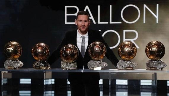 Ballon d'Or 2019 Winner: Messi Wins His 6th Ballon d'Or