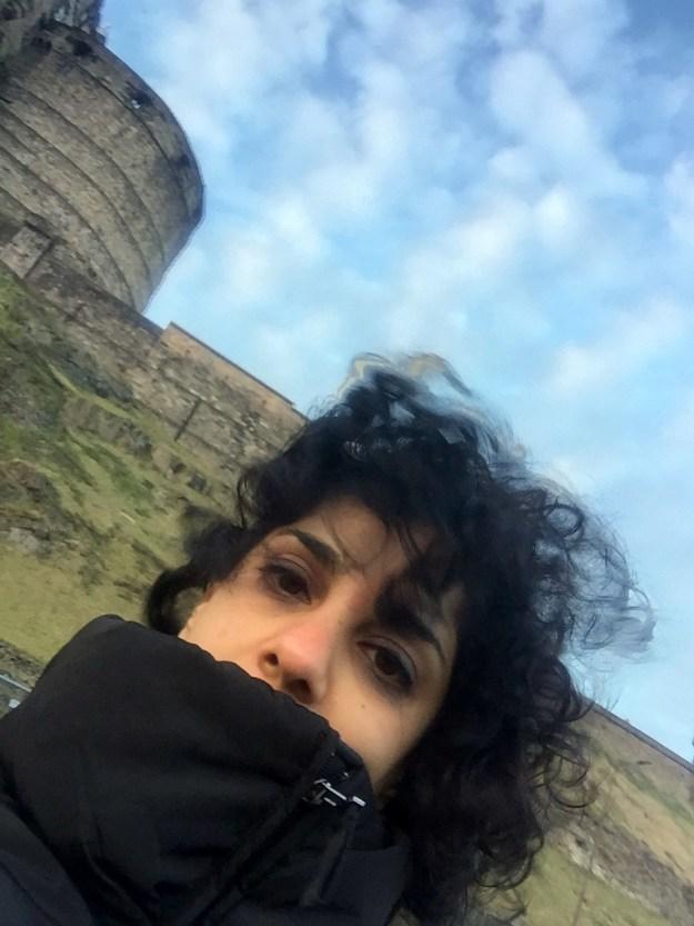 Edinburgh, windiest spot