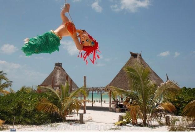 Isla Holbox, Piñata