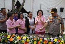 Bupati Tabanan Ni Putu Eka Wiryastuti, menghadiri Peresmian asrama Panti Asuhan Kemala Bhayangkari SLBC Tabanan Desa Sembung Gede Kec. Kerambitan Kab. Tabanan