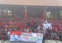 Komang Gede Sanjaya saat menghadiri deklarasi dukungan Capres Nomor urut 01 Jokowi-Amin, di di Desa Pakraman Tegallinggah, Penebel