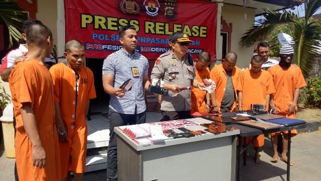 Unit Reskrim Polsek Denpasar Selatan Densel Ketika Mengungkap